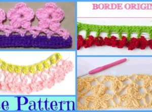 Crochet Flower Border – Free Patterns