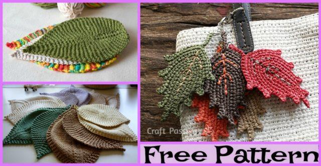 Knit Leafy Washcloth – Free Patterns