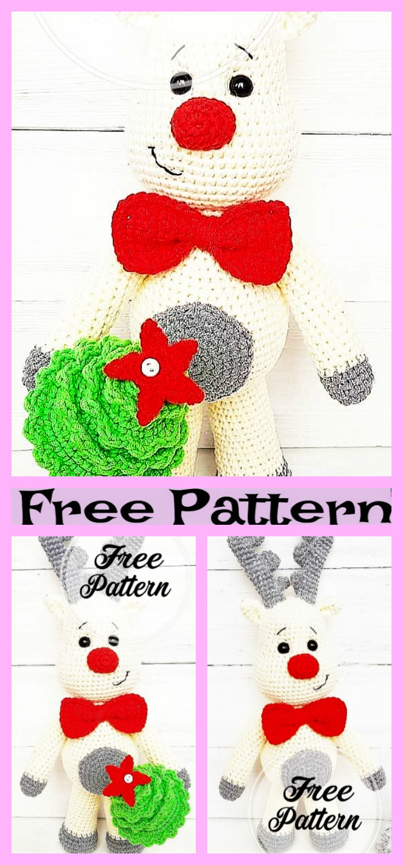 Crochet Deer Amigurumi - Free Pattern