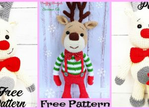Cool Crochet Deer Amigurumi – Free Pattern