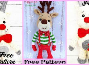 Cool Crochet Deer Amigurumi – Free Pattern