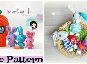 Crochet Little Amigurumi Bunnies – Free Patterns