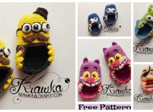 5 Crochet Cute Baby Booties – Free Patterns