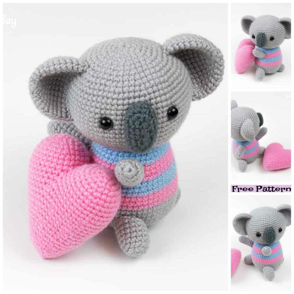 diy4ever-5 Crochet Heart Amigurumi Free Patterns