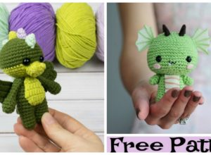 Crochet Dragon Amigurumi – Free Pattern