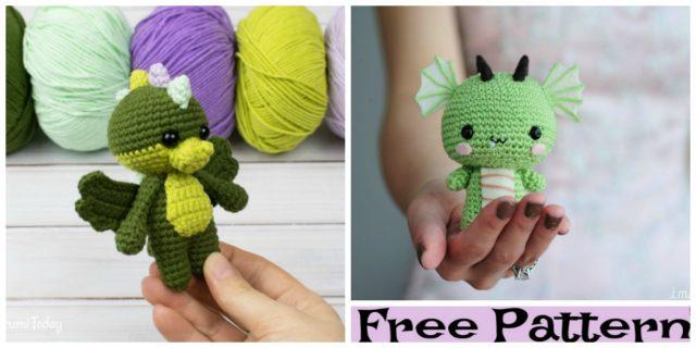 Crochet Dragon Amigurumi – Free Pattern