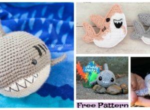 Crochet Shark Amigurumi – Free Patterns
