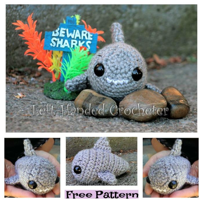 diy4ever-Crochet Shark Amigurumi - Free Patterns