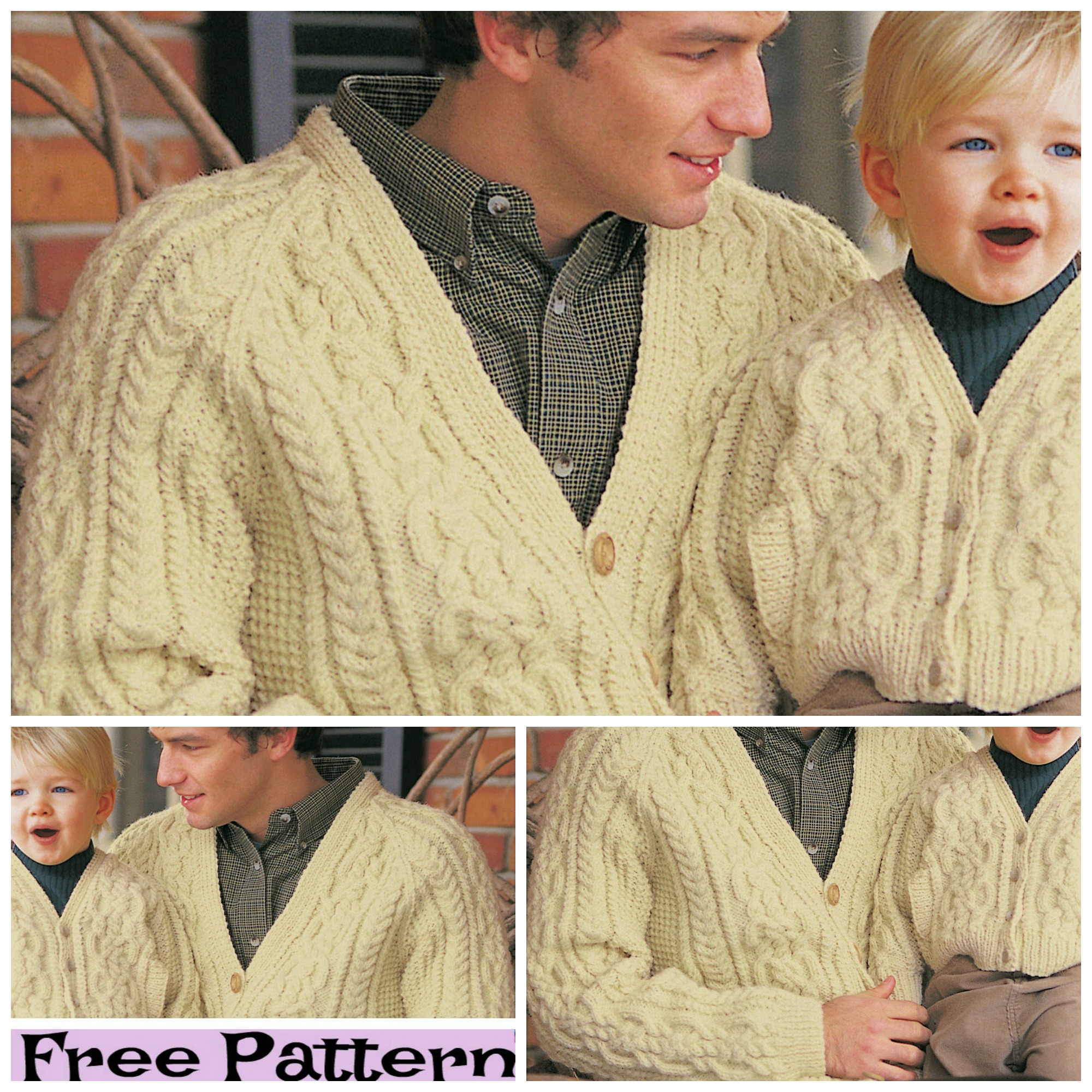 diy4everUnique Knit Family Look - Free Patterns