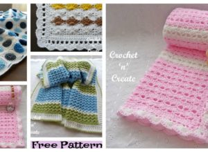 6 Cozy Crochet Baby Blanket Free Patterns