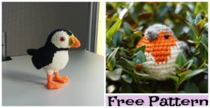 diy4ever-Adorable Crochet Bird Amigurumi - Free Patterns