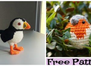 Adorable Crochet Bird Amigurumi – Free Patterns