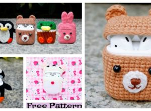 Airpod Cozy Free Crochet Patterns