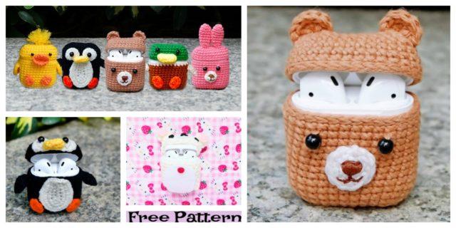 Airpod Cozy Free Crochet Patterns