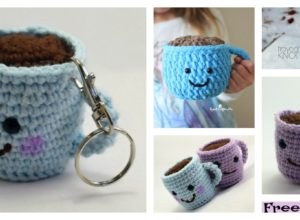 Crochet Coffee Cup Amigurumi – Free Patterns