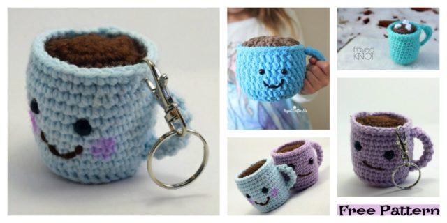Crochet Coffee Cup Amigurumi – Free Patterns