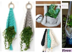 Crochet Plant Hanger  Free Patterns