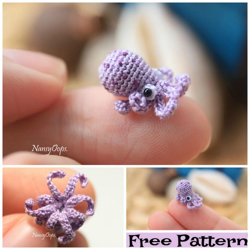 diy4ever-Crochet Tiny Animal Amigurumi Free Patterns