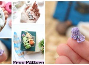 Crochet Tiny Animal Amigurumi Free Patterns