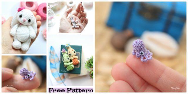 Crochet Tiny Animal Amigurumi Free Patterns