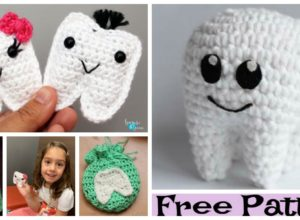 Crochet Tooth Fairy – Free Patterns