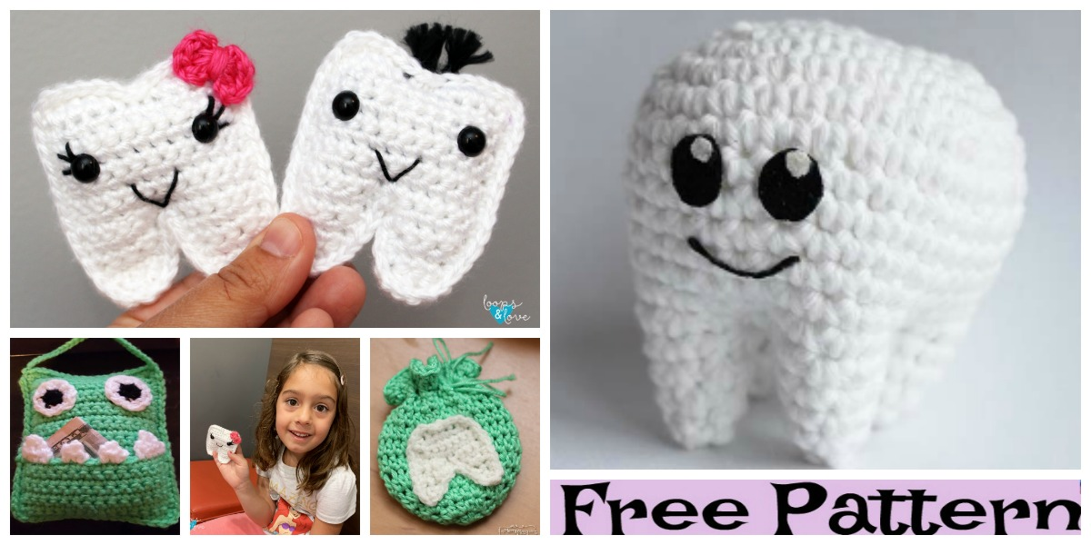 Crochet Tooth Fairy Free Patterns Diy 4 Ever