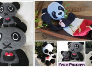 Cute Crochet Pandas –  Free Patterns