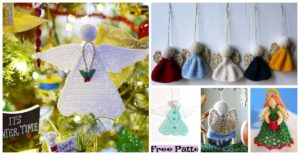 diy4ever-Pretty Crochet Angle Free Patterns