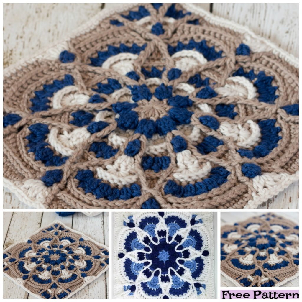 diy4ever-6 Pretty Crochet Hot Pads - Free Patterns
