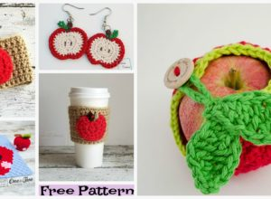 Cute Crochet Apple Free Patterns
