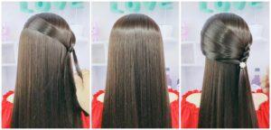 diy4ever-DIY Beautiful Princess Hairstyle