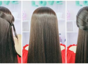 DIY Beautiful Princess Hairstyle
