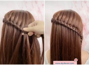 Beautiful Crown Braid Hairstyle ( Video Tutorial)