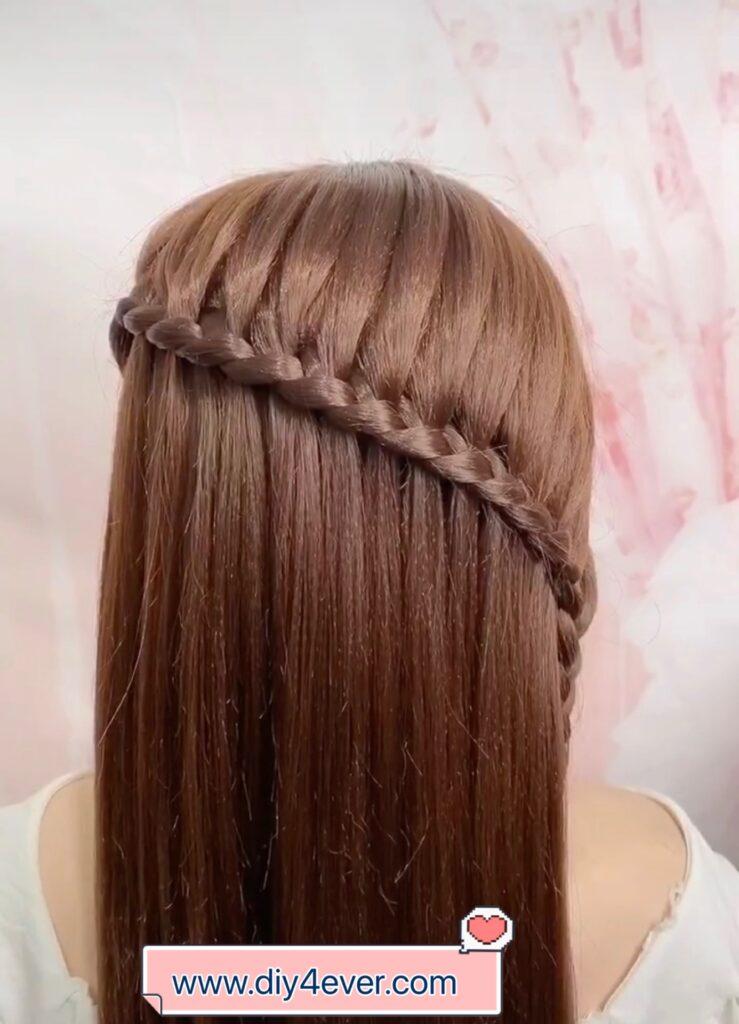 Beautiful Crown Braid Hairstyle ( Video Tutorial)