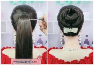 diy4ever-DIY Easy Cute Hairstyle Tutorial