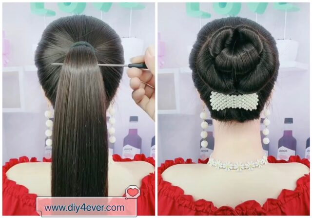 DIY Easy Cute Hairstyle Tutorial