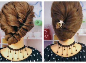 Easy Braid  Hairstyle ( Video 0084-0085)