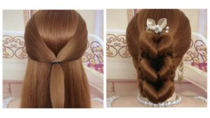 DIY Heart Hairstyle Tutorial(Video 0092)