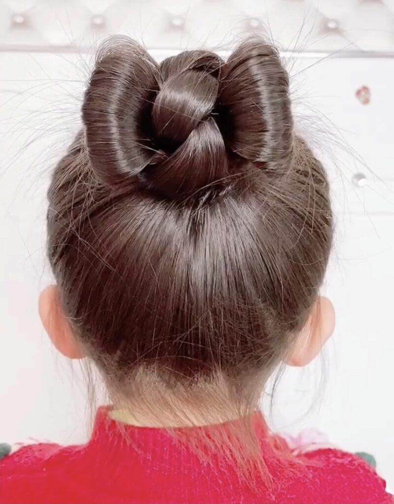 DIY Butterfly Bun Hairstyle Tutorial