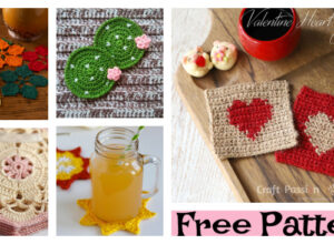 6 Unique Crochet Coaster FREE Patterns