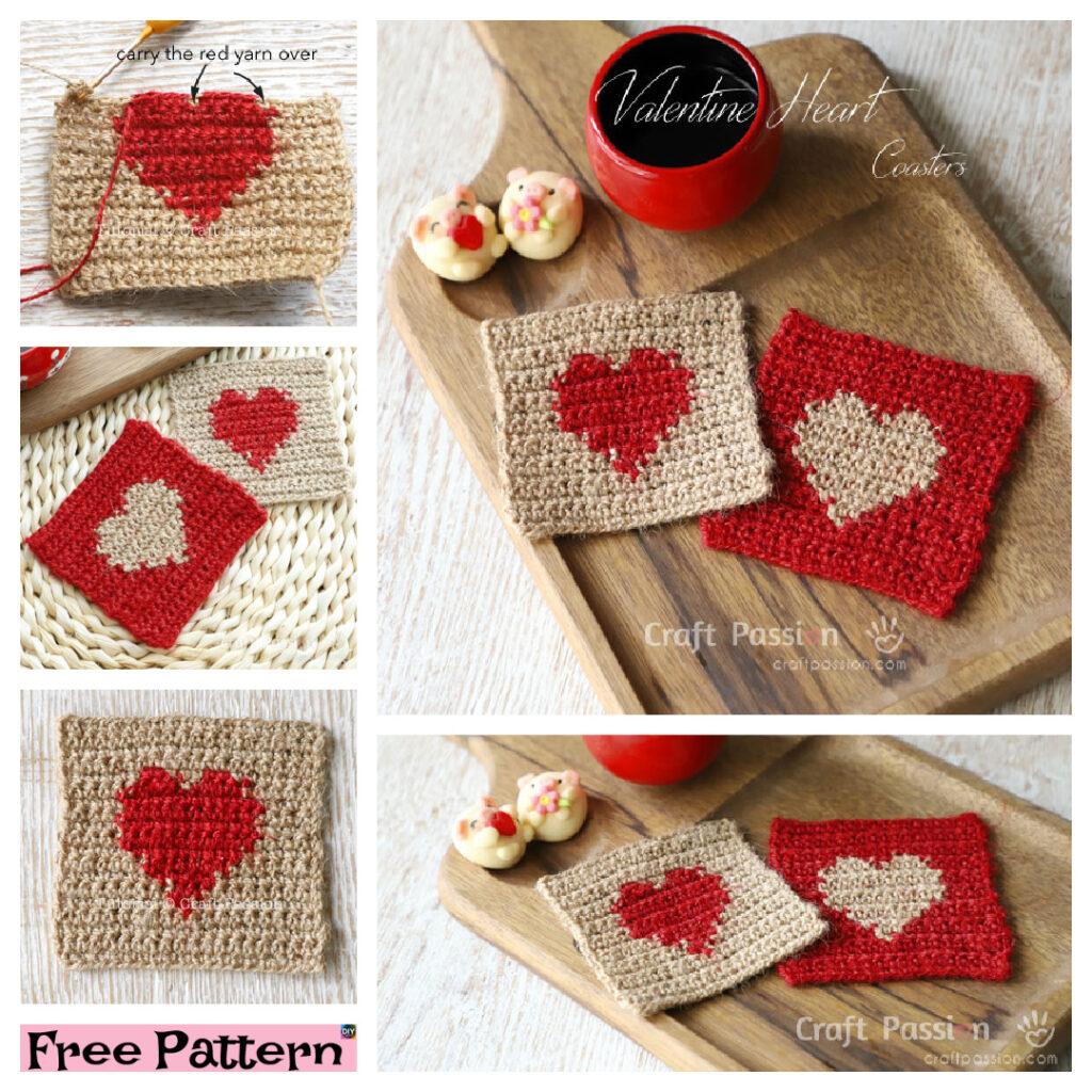 6 Unique Crochet Coaster FREE Patterns
