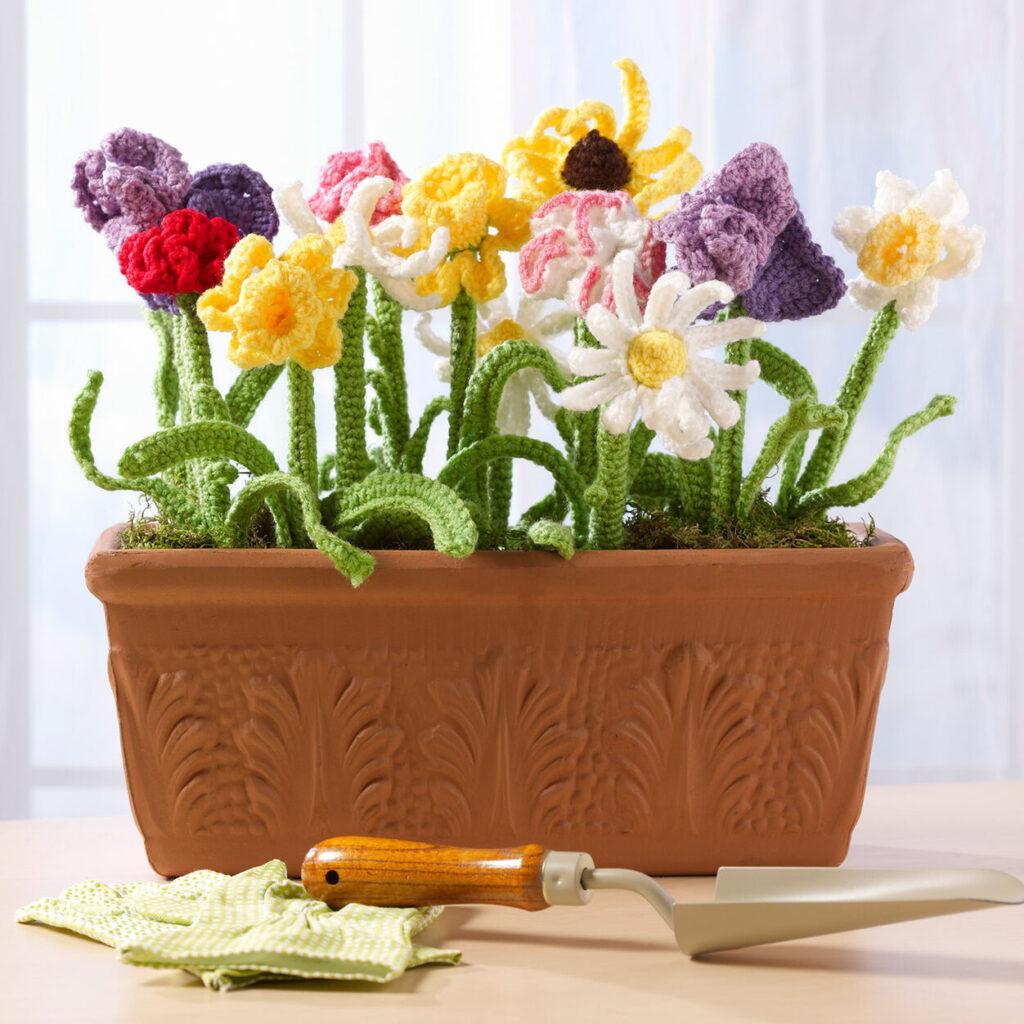 Crochet 3D Flower Bouquet - Free Patterns2.png Crochet 3D Flower Bouquet - Free Patterns  .png