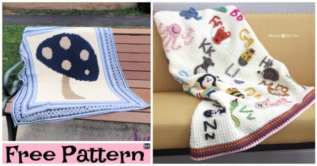 Crochet Dancing Blanket Free Patterns