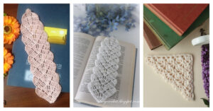 Crochet Lace Bookmark – Free Patterns