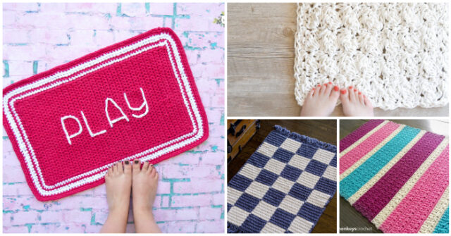 Useful Crochet Home Rug – Free Patterns