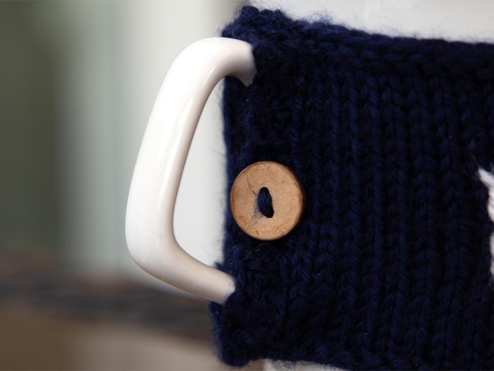Knitting No.1 Dad Mug Cozy Pattern