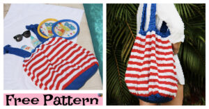 http://www.ravelry.com/patterns/library/4th-of-july-beach-ball-bag