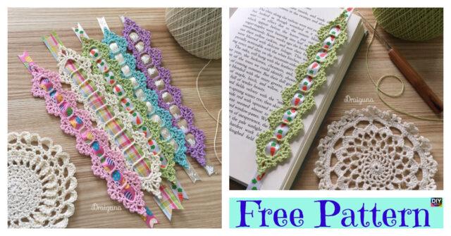 Crochet Celebration Bookmark – Free Pattern