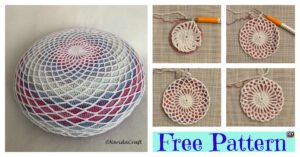 Crochet Dreamcatcher Pillow - Free Pattern