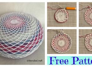 Crochet Dreamcatcher Pillow – Free Pattern